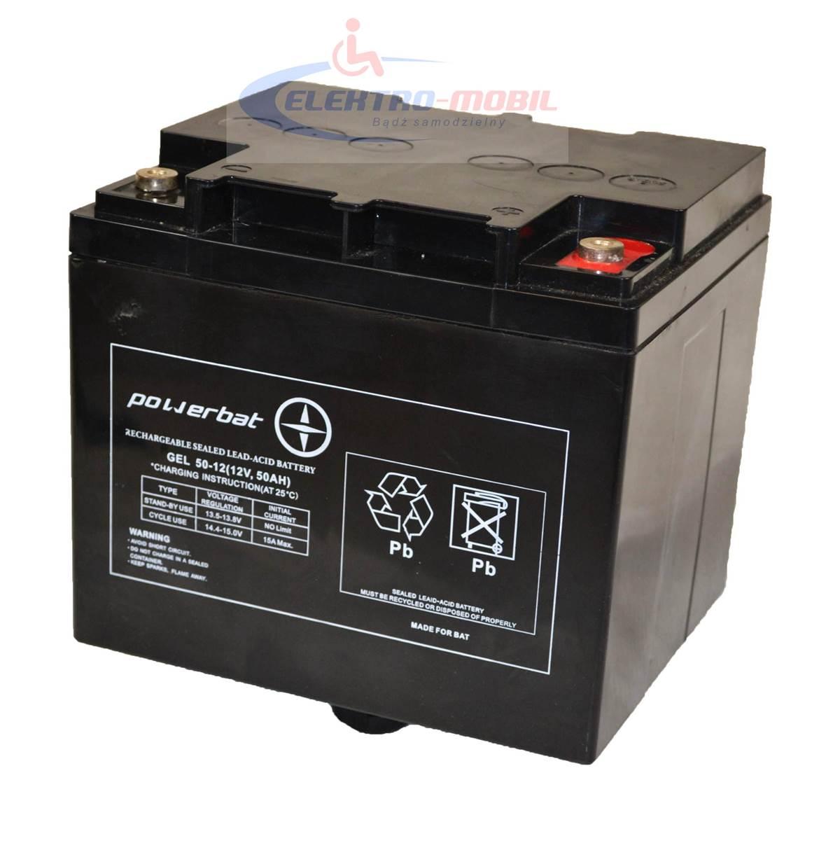 Akumulator 12V50Ah