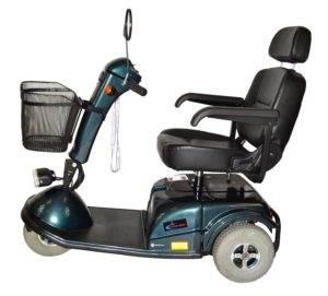 skuter inwalidzki elektryczny calypso bok