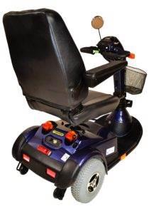 skuter inwalidzki-elektryczny pride lunetta tył