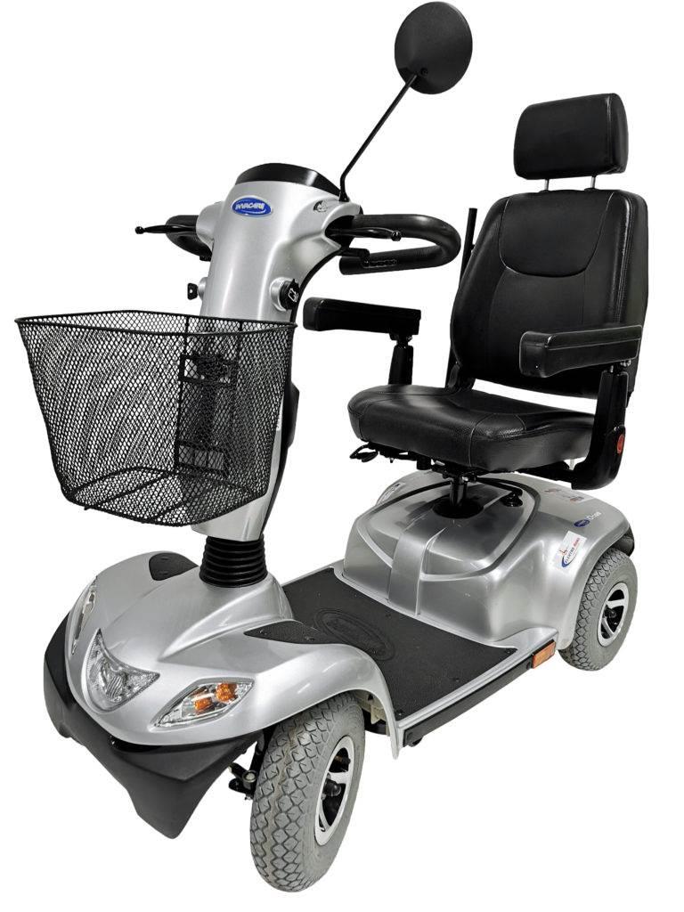 wózek inwalidzki elektryczny używany orion invacare