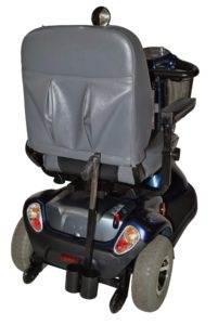 skuter inwalidzki elektryczny ctm hs 363 tył