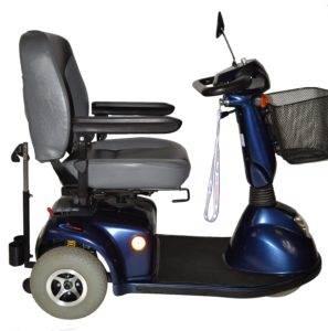 skuter inwalidzki elektrycznyctm hs 636 bok dla seniora