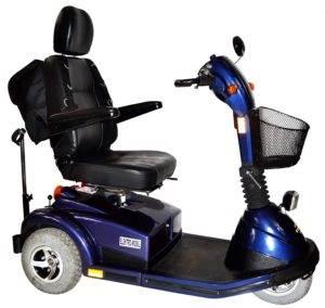 skuter inwalidzki elektryczny pride luna bok