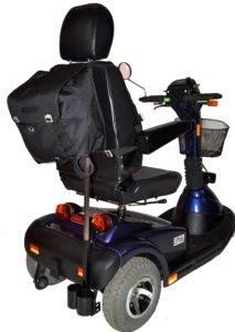 skuter inwalidzki elektryczny pride luna tył