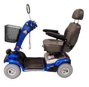 skuter inwalidzki elektryczny shoprider monarch bok