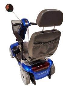 skuter inwalidzki elektryczny wózek shoprider monarch tył