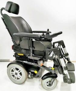 wózek inwalidzki elektryczny bok luca