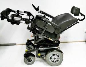 wózek inwalidzki elektryczny luca przechył