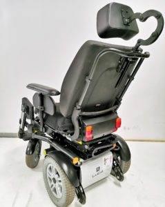 wózek inwalidzki elektryczny luca tył