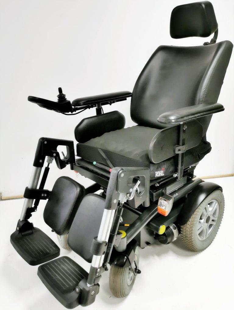 wózek inwalidzki elektryczny luca używany