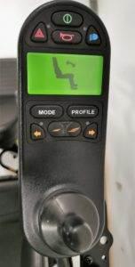 wózek inwalidzki elektryczny luca wyświetlacz