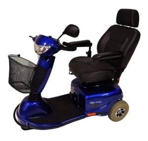 skuter inwalidzki elektryczny invacare auriga niebieska używana