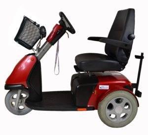 skuter inwalidzki elektryczny trophy booster 6 bok