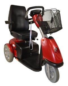 skuter inwalidzki elektryczny trophy booster 6 używany dla seniora