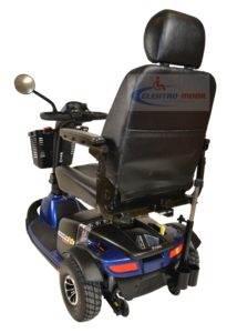 skuter inwalidzki elektryczny pride lunetta v sport tyl