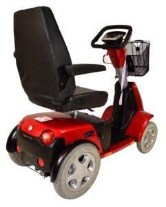 skuter inwalidzki elektryczny trophy booster 6 4 koła tył