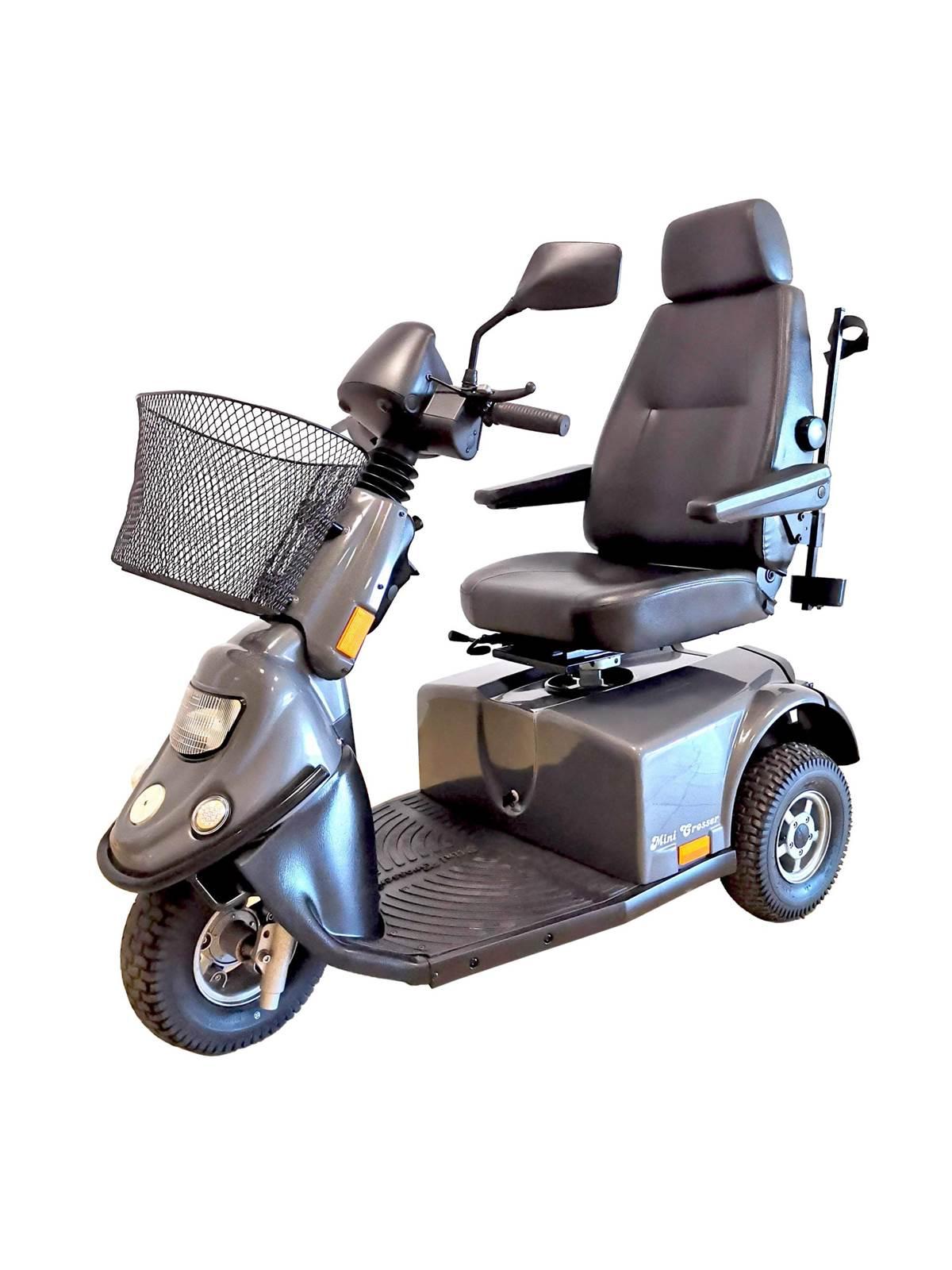 skuter inwalidzki elektryczny minicrosser szary