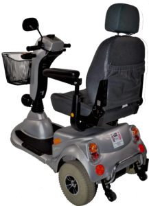 skuter inwalidzki elektryczny meyra 310 tył