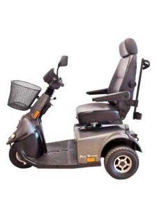 skuter inwalidzki elektryczny minicrosser bok