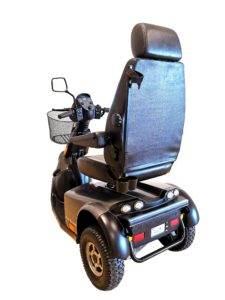 skuter inwalidzki elektryczny minicrosser szary tyl