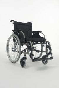 wozek inwalidzki manualny ręczny V100 XXL
