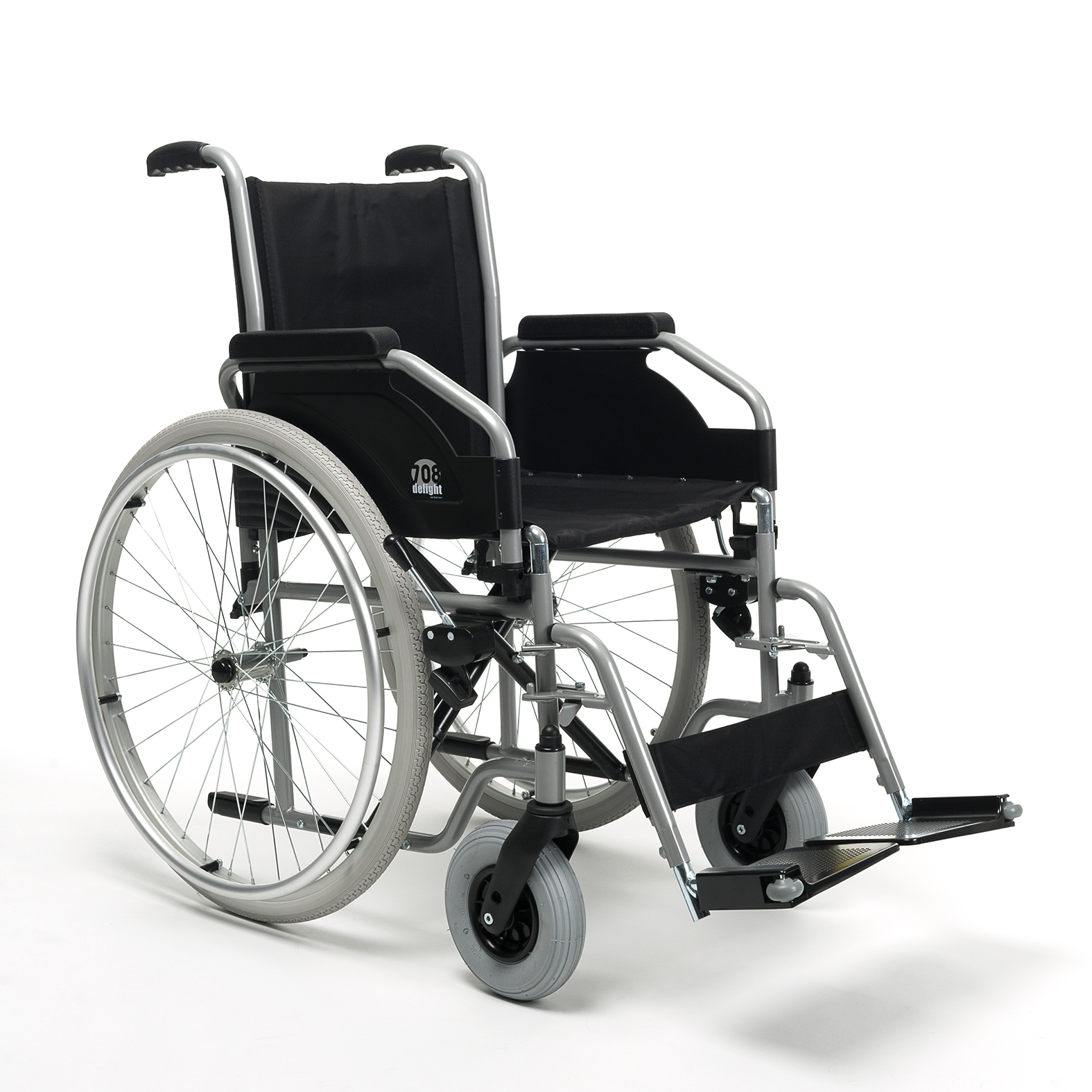 wózek manualny ręczny nwalidzki 708D