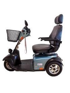 skuter inwalidzki elektryczny dla seniora minicrosser zielony