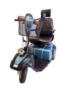 skuter wózek inwalidzki elektryczny minicrosser zielony