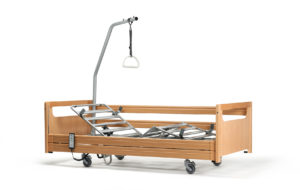 illico wooden siderails 3q view