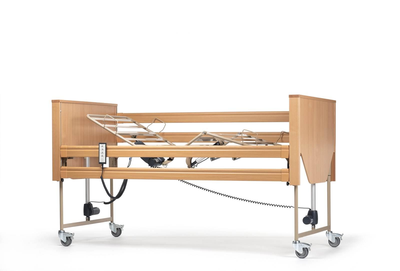 łóżko rehabilitacyjno pielęgnacyjne luna 2