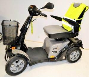 skuter inwalidzki elektryczny solo comfort 4 koła używany