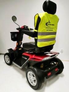 skuter inwalidzki elektryczny prezident tył