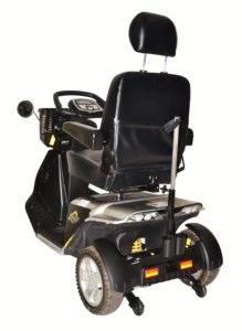 skuter inwalidzki elektryczny pride zolar tył