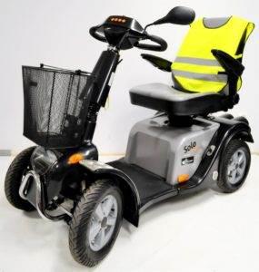 skuter inwalidzki elektryczny solo comfort 4 koła