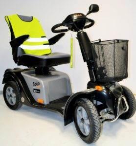 skuter inwalidzki elektryczny solo comfort 4 koła dla seniora
