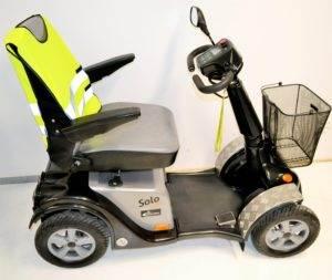 skuter inwalidzki elektryczny solo comfort 4 koła używany dla seniora