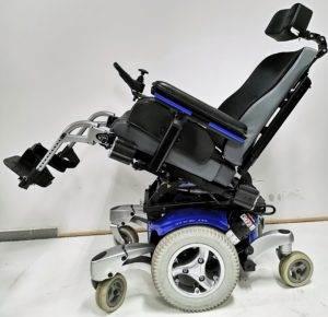 wózek inwalidzki elektryczny quickie javi regulacja fotela