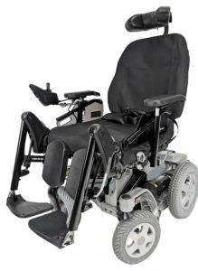 wózek inwalidzki elektryczny storm 4 bok