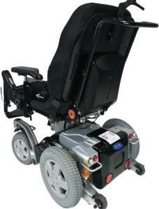 wózek inwalidzki elektryczny storm 4 tył