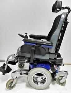wózek inwalidzki elektryczny-terenowo-pokojowy quickie javi