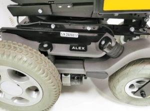 wózek inwalidzki używany elektryczny alex