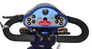 exel navigator skuter inwalidzki o napędzie elektrycznym pulpit