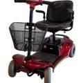 skuter inwalidzki elektryczny dla seniora czterokołowy pojazd rozkładany