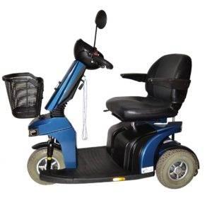 skuter inwalidzki elektryczny dla seniora na akumulator