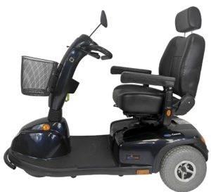 skuter inwalidzki elektryczny dla seniora pojazd na akumulator