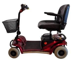 skuter inwalidzki elektryczny mały pojazd dla seniora