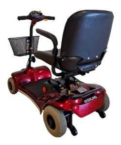 skuter inwalidzki elektryczny pojazd dla seniora rozkładany