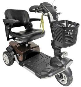 skuter inwalidzki elektryczny travelux 3 koła używany
