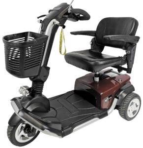 skuter inwalidzki elektryczny travelux brązowy
