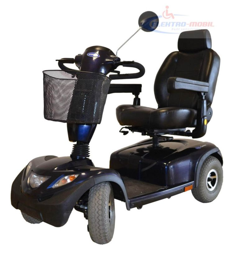 skuter inwalidzki o napędzie elektrycznym pojazd dla seniora